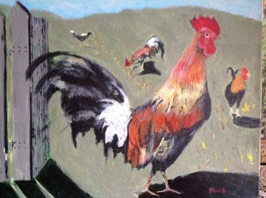 Kauai Rooster