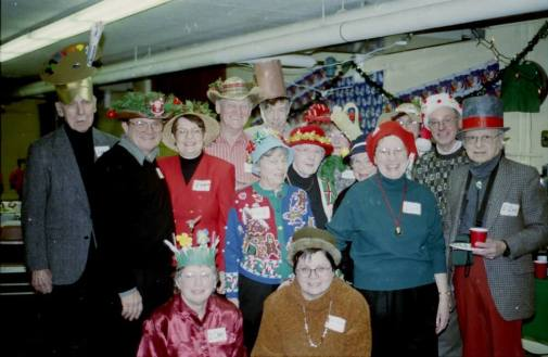 Christmas party - 2000