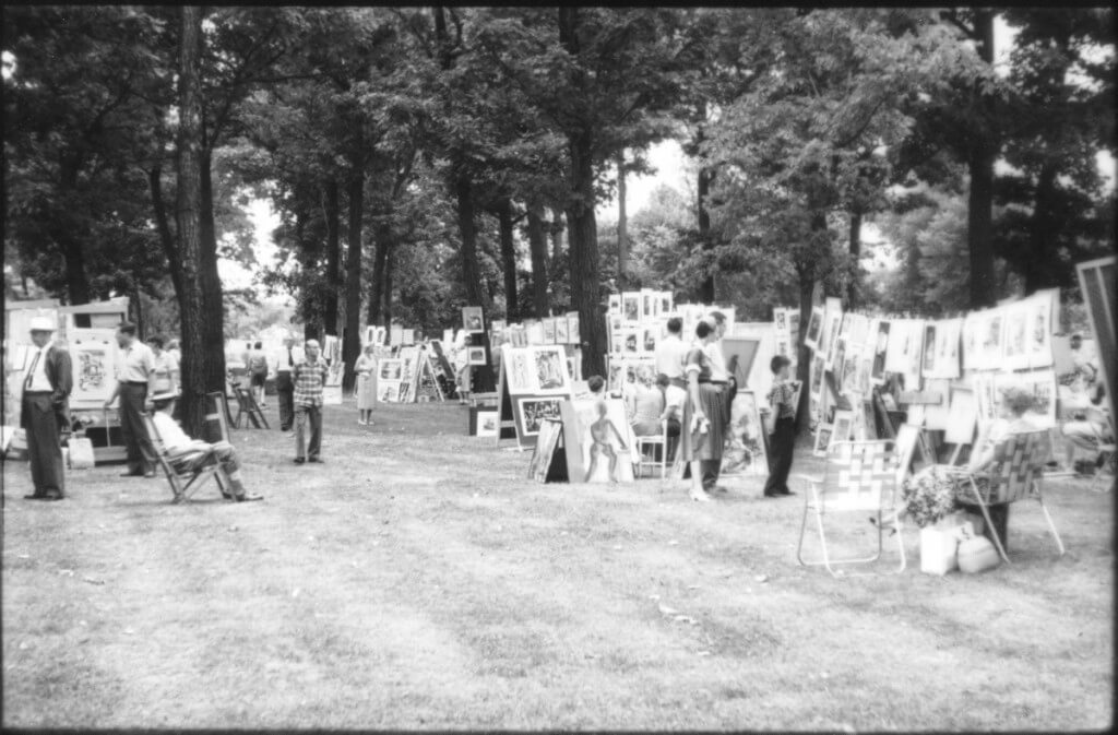 Summer Art Fair 1958