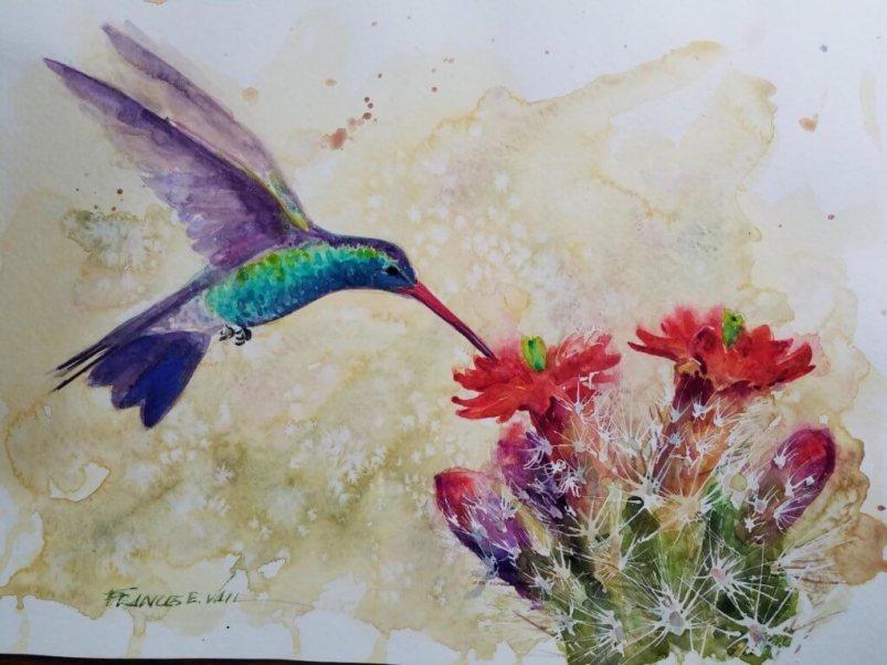 Fran Vail - Watercolor #4