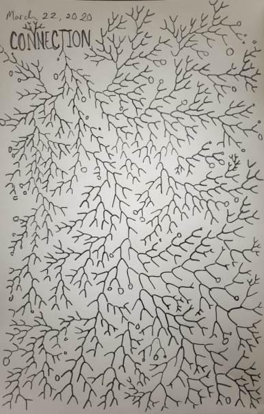 Sketchbook Page, Deb Anderson