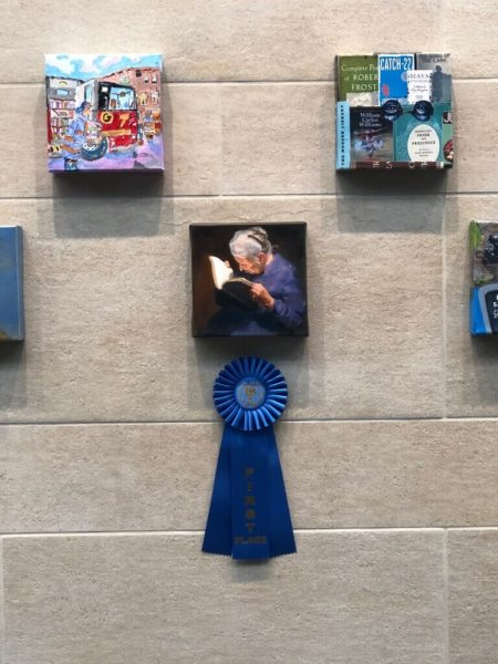 Photo of first place painting