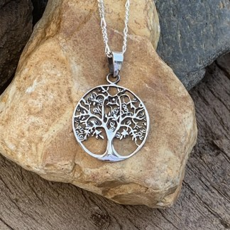 Blooming Tree of Life Pendant
