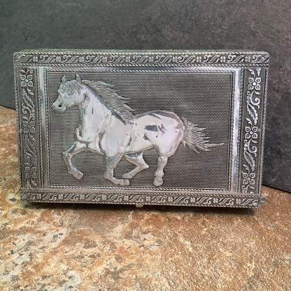 Horse Tin Box