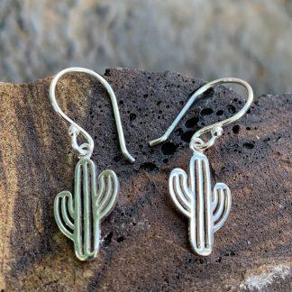 Saguaro Cactus Sterling Earrings