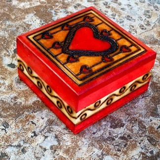 Heart on a String Box
