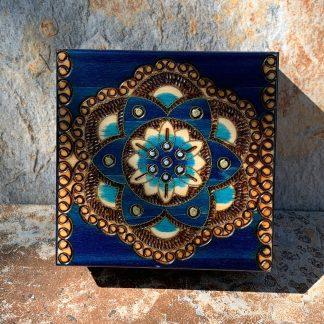 Handcrafted Chakra Luna Box