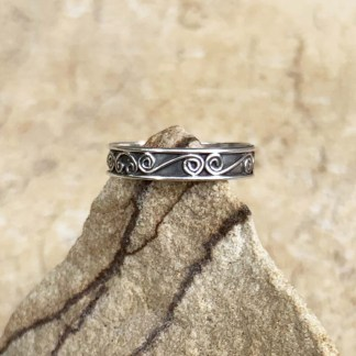 Sterling Endless Waves Ring