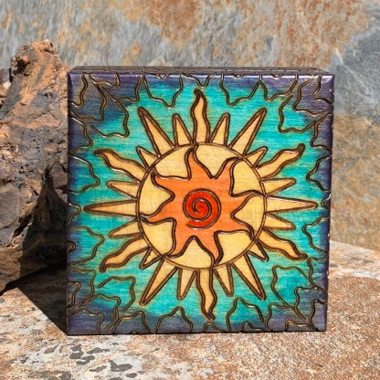 Handcrafted Contemporary Solar Box