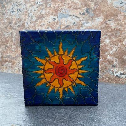Handcrafted Contemporary Solar Box