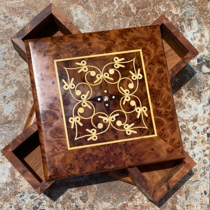 Moroccan Inlaid Sliding Box