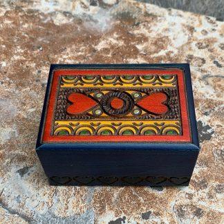 Handcrafted Tiny Hearts Box
