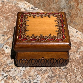 Handcrafted Jewelry Chest Box