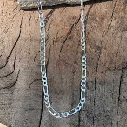 Sterling Figaro 100 Chain
