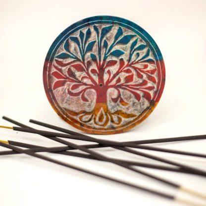 Tree of Life Incense Burner