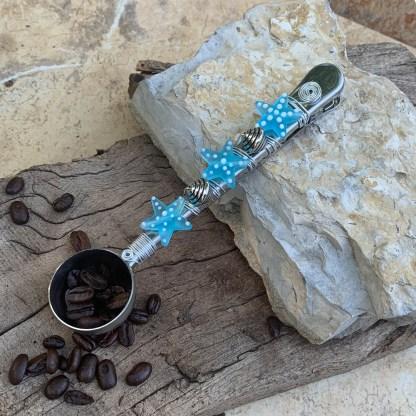 Starfish Coffee Scoop Clip