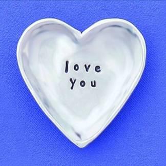 Love You Charm Bowl