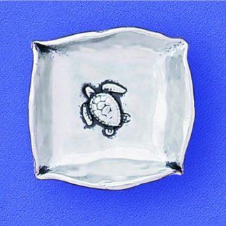 Pewter Sea Turtle Mini-Dish