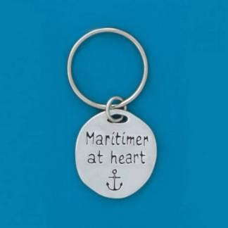 Pewter Maritimer Anchor Keychain
