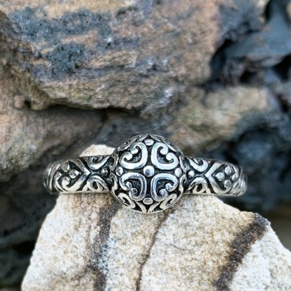Sterling Tiny Hearts Ring