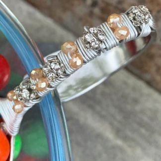 Rhinestone Candy & Nut Spoon