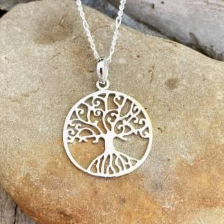 Delicate Tree of Life Pendant
