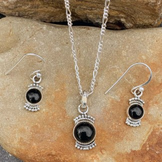 Black Onyx Jewelry Set