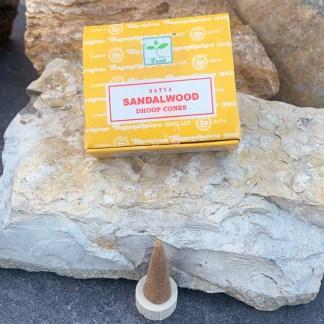 Sandalwood Dhoop Incense Cones