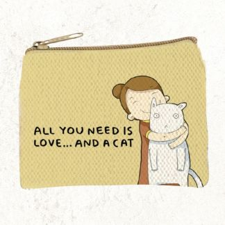 Cat Love Cotton Coin-Purse