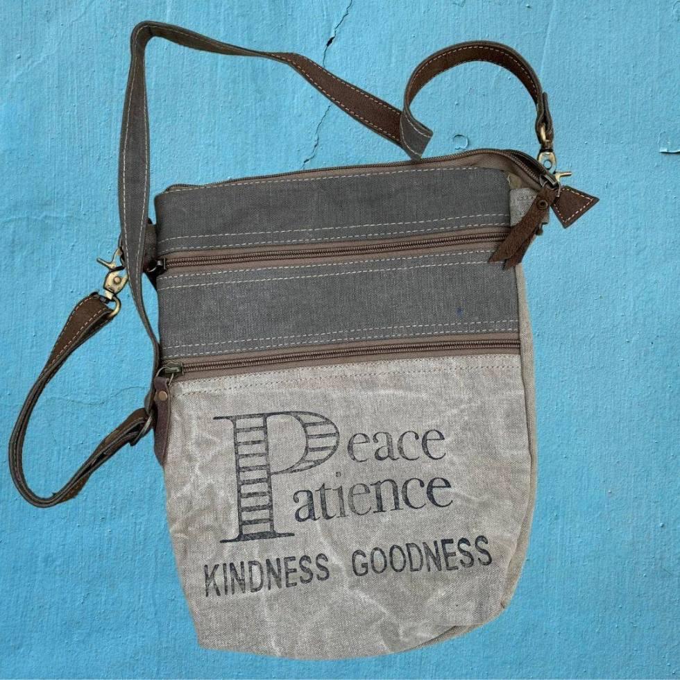 Peace Patience Cross-Body Bag