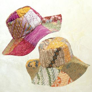 Recycled Sarong Floppy Hat