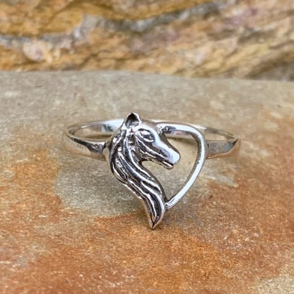 To Love a Horse Ring