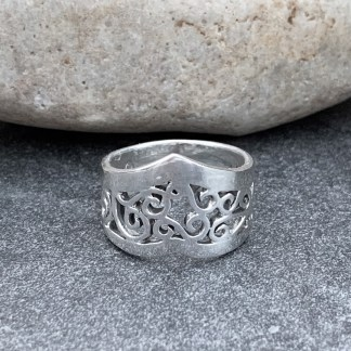 Sterling Silver Storms Ring