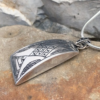 Sterling Moroccan Berber Pendant