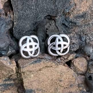 Sterling Celtic Knot Studs