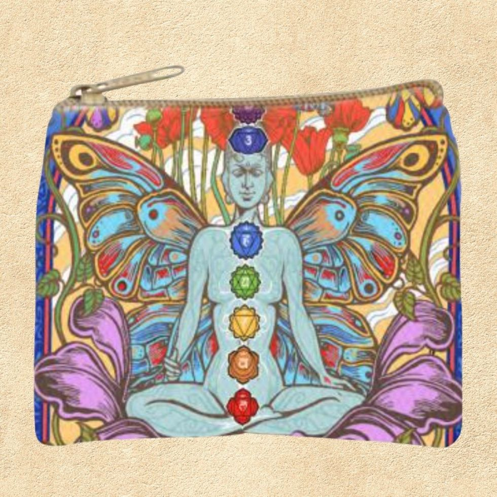 Chakra Lotus Coin Purse