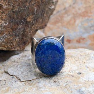 Bold Lapis Lazuli Ring
