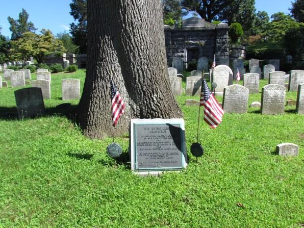 Irving family burial plot