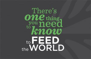 E-card — To feed the world: Global Landscapes Forum