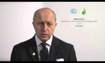 2015 Global Landscapes Forum: Laurent Fabius – Opening Keynote