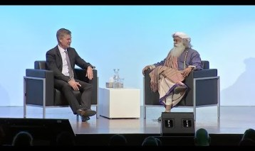 Sadhguru in conversation with Erik Solheim
