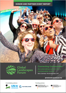 Donor and Partner Event Report | Global Landscapes Forum: Connecting communities
