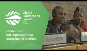 Gender roles and implications for landscape restoration