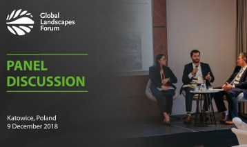 Panel discussion: Forest Landscape Restoration and Climate Change Ambition