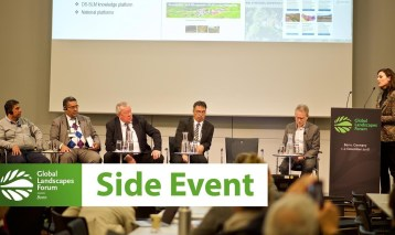 Side Event 5: Scaling up SLM in the landscape: a framework for decision support