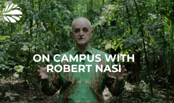On campus with Robert Nasi