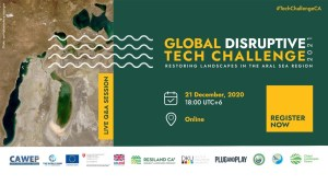 Webinar on the Global Disruptive Tech Challenge 2021