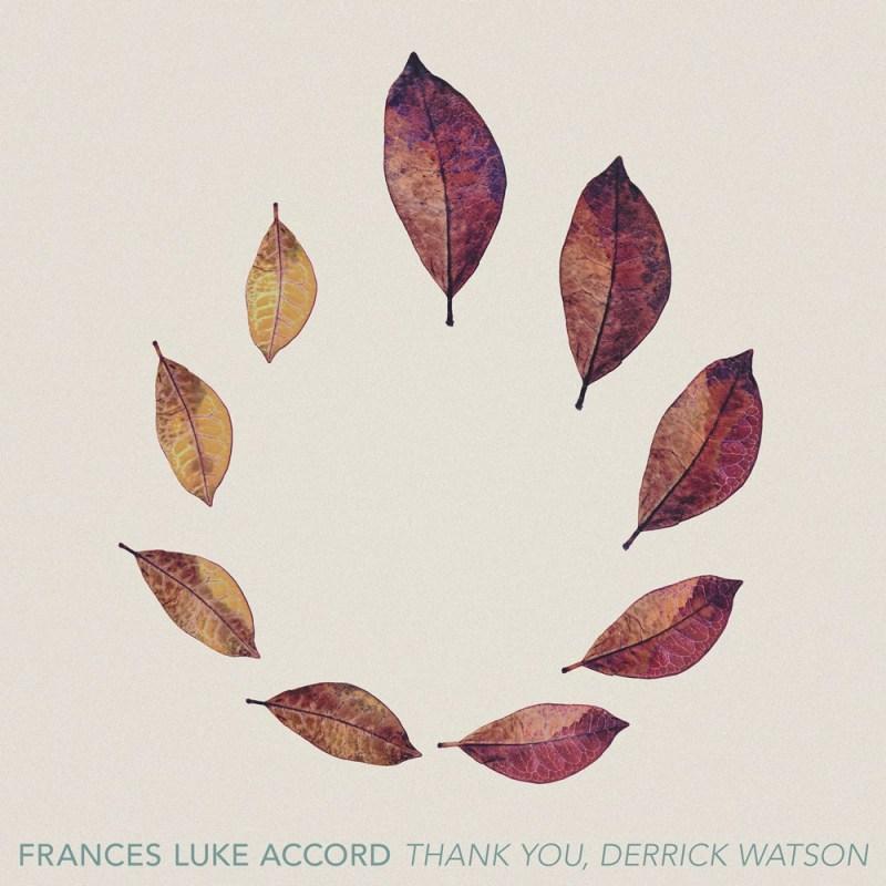 Frances Luke Accord single artwork