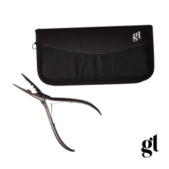 gl stainless steel micro ring pliers with carry case""