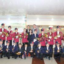 Fanfara Şcolii de muzică, conducător artistic Andrei ARHIRII
